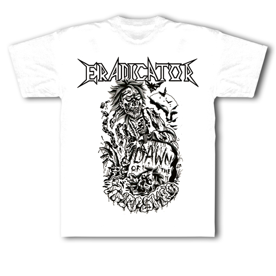 "T-Shirt ""Dawn Of The Thrashed"" White"