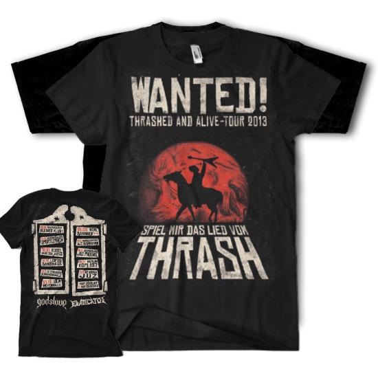 "T-Shirt ""Wanted Tour"""